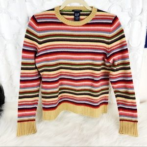 ✨5 for $25✨ Gap 70s Rainbow Color Palette Sweater